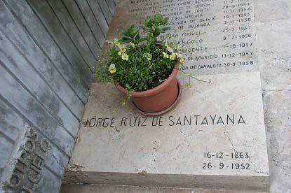 10g13 Tumba de Santayana el 8 abril 2005