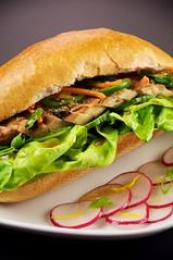 Vietnamese Chicken Sandwhich