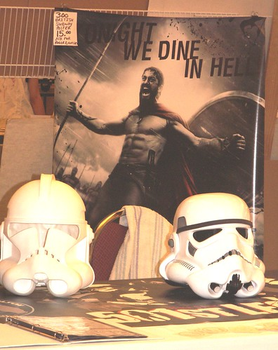 Ancient City Con IV, Star Wars Storm Troopers Meet King Leonidas of 300