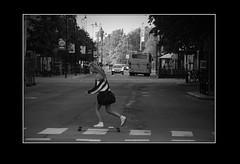 Longboard Chic (karlstad Igr) Tags: hot sweden karlstad skate longboard sverige canoneos400d zebralines canonef10030056