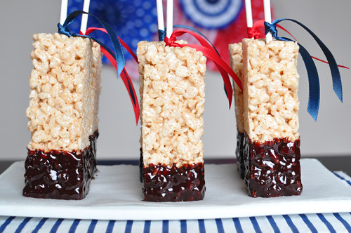 rice krispy treats wedding favors 3