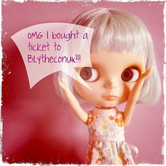 we're going to BlytheConUK yay!!!