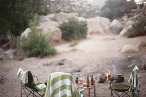 campfire, kern river