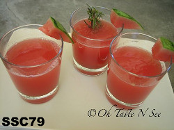 SSC79-Rosemary Watermelon Cocktail / Mocktail