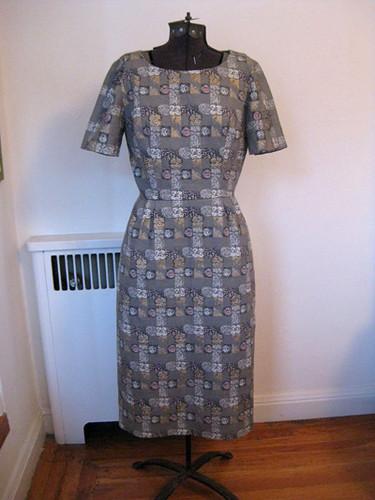 Grey Dress Front