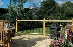 Traditional Metal Baluster with Multi-Rail (Richard Burbidge) Tags: decks decking deckrailing deckboards wooddecking gardendecking richardburbidge deckingbalustrade deckingrails deckingbalustrades