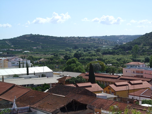 Scenery from Silves, Portugal