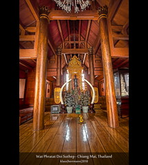 Wat Phratat Doi Suthep - Chiang Mai, Thailand (HDR) (farbspiel) Tags: wood travel vacation holiday colour tourism colors photoshop geotagged thailand religious temple photography gold amazing nikon worship colorful asia asien southeastasia sdostasien colours buddhist religion ivory belief wideangle holy journey blended chiangmai mystical colourful spiritual wat dri hdr highdynamicrange tha farben tempel blend topaz heilig monopod superwideangle simplify 10mm postprocessing glaube buddhismus dynamicrangeincrease ultrawideangle d90 photomatix digitalblending religis tonemapped tonemapping farbenpracht detailenhancer watphratatdoisuthep topazclean totallythailand topazadjust topazdenoise klausherrmann topazsoftware sigma1020mmf35exdchsm geo:lat=1880475000 topazphotoshopbundle geo:lon=9892176100