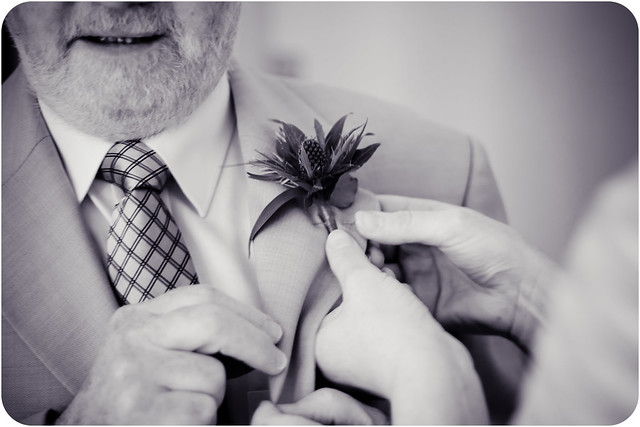 buttonhole bw