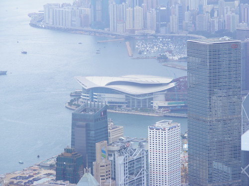 Picture from Victoria Peak, Hong Kong