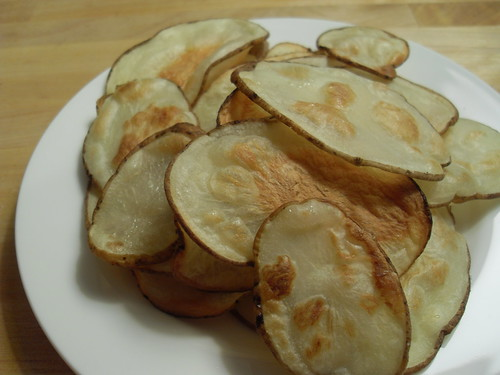 Oven-Baked Potato Chips