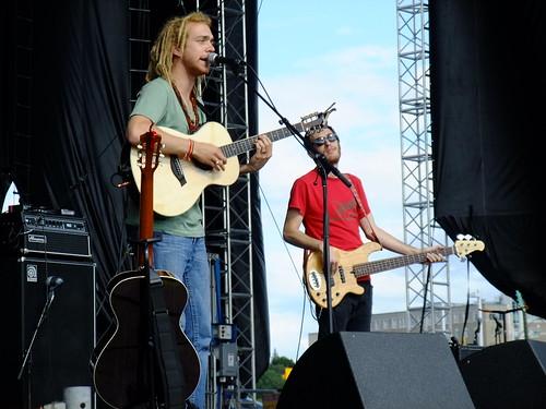 Trevor Hall at Ottawa Bluesfest 2010