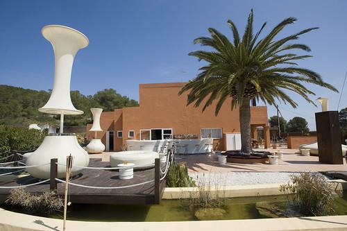 Boutique Hostal Salinas, Ibiza restaurant and bar