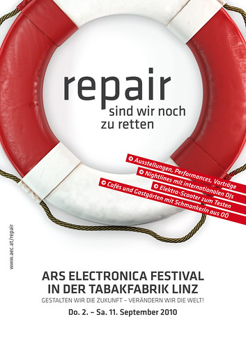 Logo Ars Electronica Festival 2010 by Ars Electronica.