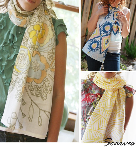 scarves - leah duncan