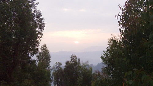 Sunrise on Shyira Mountain