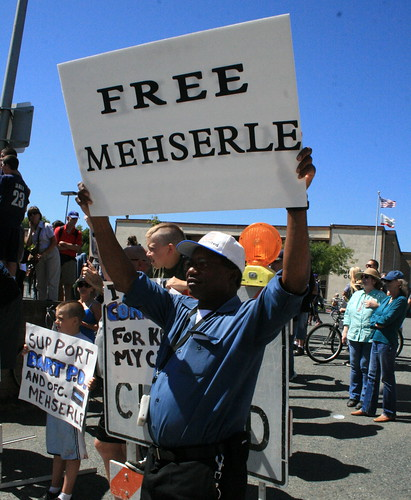 Black Man wants to Free Mehserle