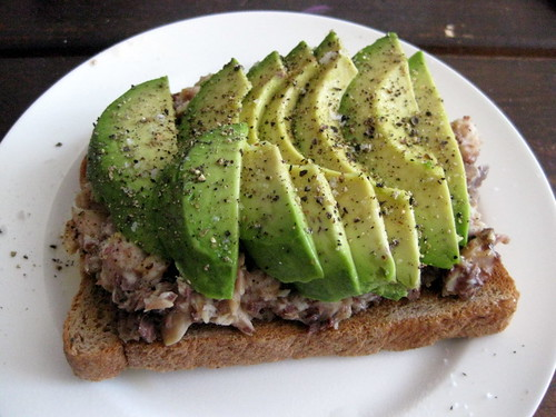 Sardine Avocado Sandwich Diet | gracenotes nyc