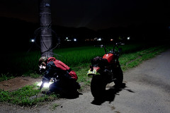 Map (shimobros) Tags: light lamp night canon honda dark eos offroad map mini route dirt mopeds moto motorcycle mk2 5d moped navi studying rp    mark2   wonderfulworld  cy80 cy50