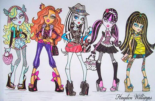 M  S Fanarts De Monster High En Nuestro Correo