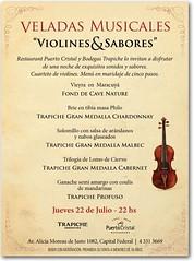 Violines saboresTrapiche