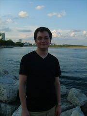 Dan by the Lake (Screaming_Mimi) Tags: wisconsin lakemichigan milwaukee lakefront