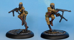 Ilsa von X (whirling_dervish) Tags: painting miniatures 28mm incursion madponies grindhousegames