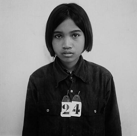 Victim 24, S-21 Tuol Sleng, before being tortured and murdered by the Khmer Rouge 1975-79