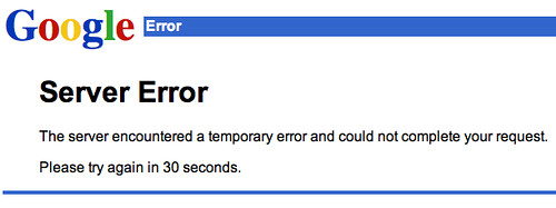 Google News Down