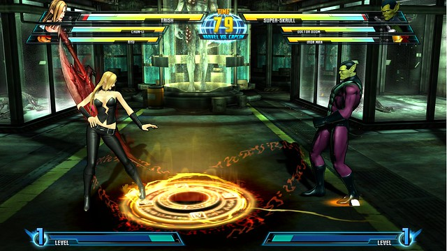 Trish VS Super Skrull