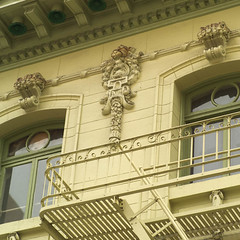 sfc000209.jpg (Keith Levit) Tags: america american americana ca california francisco northamerica northamerican sf san structural us usa unitedstates unitedstatesofamerica westcoast architectural architecture balconies balcony barrier barriers building buildings carving carvings cities city citybythebay decoration decorative enclosed exterior facades faade fireescape fireescapes frisco handrail handrails ladder ladders ornate rail railing railings rails structure structures terrace terraces wall walls window windows sanfrancisco keithlevit levit keithlevitphotography fineart photography