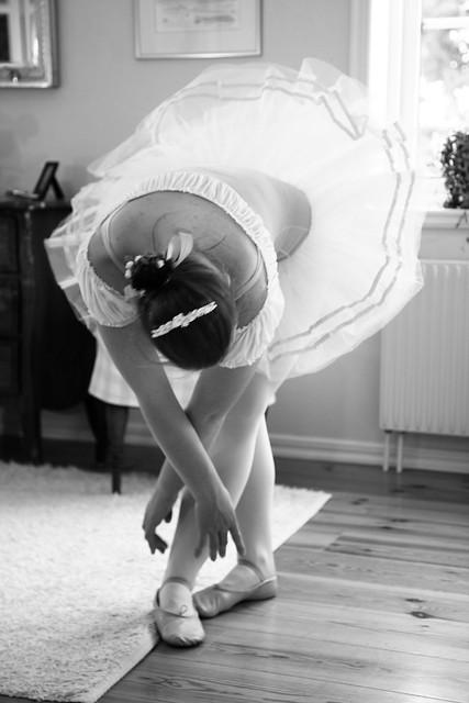 Min dotter älskar balett