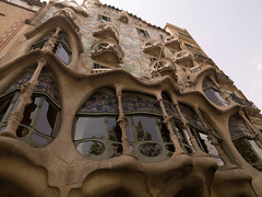 SB700033.jpg (Keith Levit) Tags: barcelona windows building window architecture buildings photography spain exterior fineart spanish curved casabatllo exteriors antonigaudi levit faade keithlevit keithlevitphotography architerctural