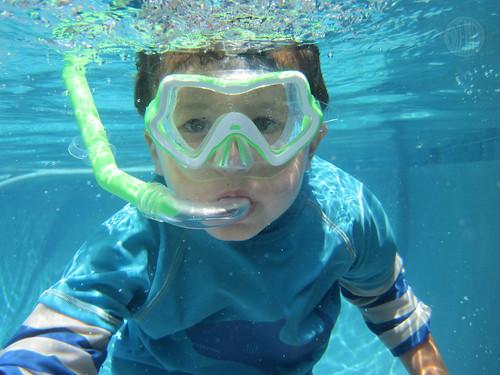 underwater C-man