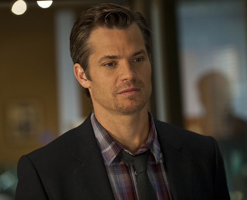 Timothy Olyphant as Steve Trevor?