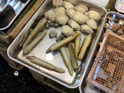 Tsukiji Ichiba: Razor Clams & Clams