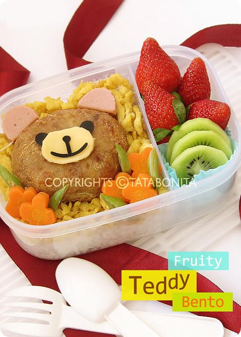 Fruity Teddy Bento