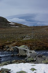 Bridge near Bessvatnet in Jotunheimen