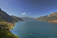 Quel ramo del lago di Como... / That branch of the lake Como... (Fil.ippo) Tags: panorama lake como landscape lago hdr filippo d5000 olivetolario