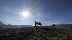 27 (Rocky Pesik) Tags: horse mountain tourism beautiful indonesia landscape asia id olympus horsemen rider bromo horseman olympian zd eastjava 714mm