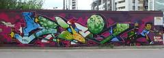AROE MSK. Delta force. (Heavy Artillery) Tags: uk graffiti brighton artillery msk ha heavy aroe