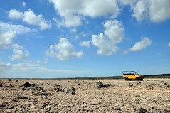 big empty (Rhonda_Marie) Tags: blue sky mountains clouds desert jeep adventure northshore curacao landrover