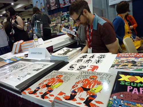 Johnny Ryan & Prison Pit at Fantagraphics, Comic-Con 2010