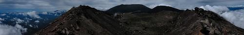 Panorama - Izalco Volcano crater