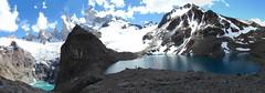 Laguna De Los Tres Y Laguna Sucia (Damin Mansilla) Tags: patagonia santacruz argentina latinoamerica laguna chalten glaciares elchalten sudamrica americadelsur mywinners
