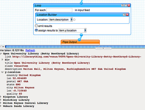 LibraryThing Local map - gecoding addresses