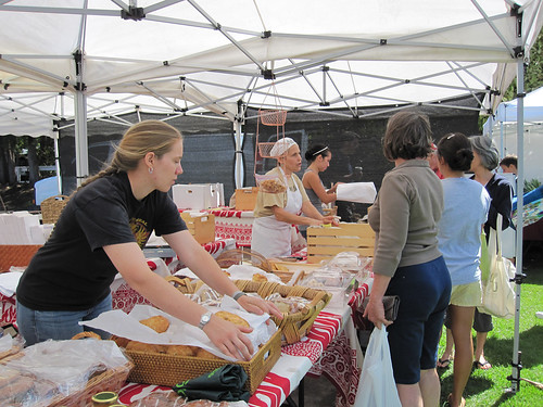 Sandwich Isle Bread Company at Parker School Farmers Market in Waimea (Kamuela)