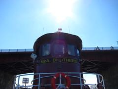 Newtown Creek / Pulaski Bridge (themikebot) Tags: city nyc newyork brooklyn port island harbor waterfront working queens tugboat barge staten