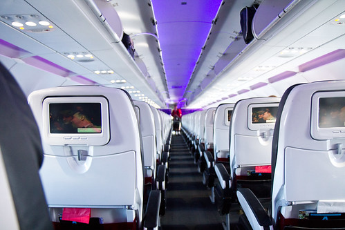 On board Virgin America by Atomic Taco, on Flickr