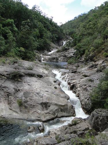 clamshell falls